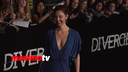 News video: Ashley Judd DIVERGENT World Premiere Arrivals
